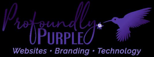 Profoundly Purple Logo