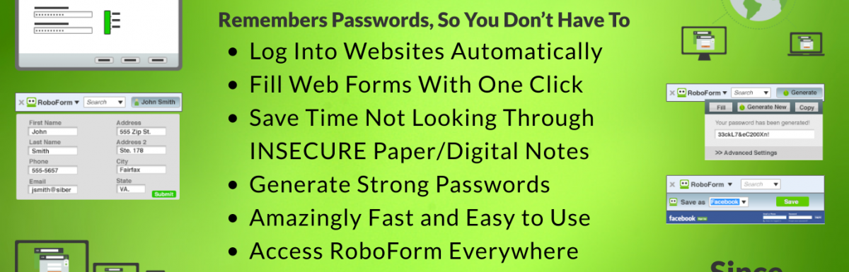 Tired of struggling to remember your passwords?